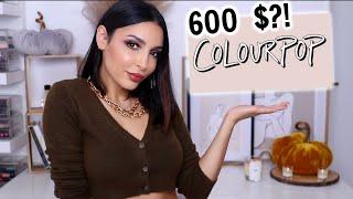 J'AI DÉPENSÉ 600$ CHEZ COLOURPOP ! (Le meilleur et le pire...)