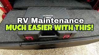 RV Maintenance made cleaner, quicker and easier!  Lube Shuttle