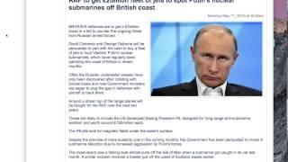 Cameron Russian  threat 2billion invested Putin's