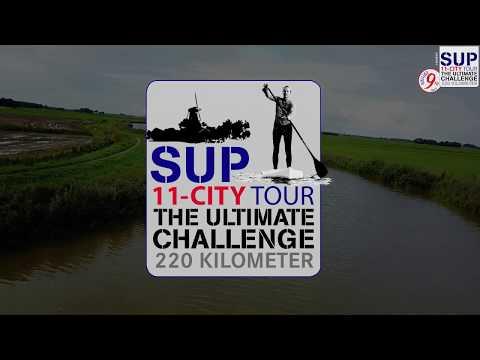 SUP 11 City Tour 2017 - Day 4 - Franeker to Dokkum