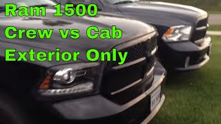 ram 1500 quad cab vs crew cab. Black Bedroom Furniture Sets. Home Design Ideas