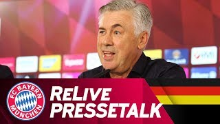 ReLive | FC Bayern Pressetalk mit Carlo Ancelotti