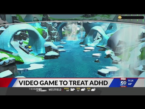 Video game approved for treatment of ADHD