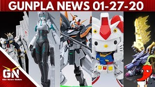 Gunpla News | Deathscythe, Zaku, Hello Kitty, May, RX93, & MetalGarurumon!?!?!