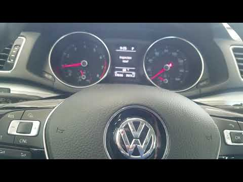 How to reset 2017 VW passat oil light and inspection light