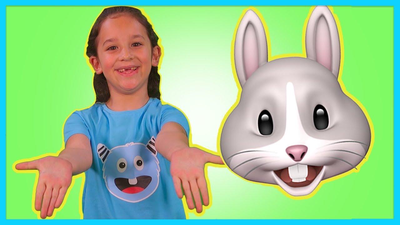 Tavşancığım Gelsene - Hayvanları Öğreten Danslı Çocuk Şarkısı