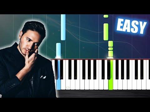 Jonas Blue - Mama - EASY Piano Tutorial by PlutaX