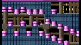 New Super Mario World (flash Game) Playthrough