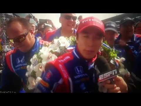 Takuma Sato winner 500 Miles Indianapolis