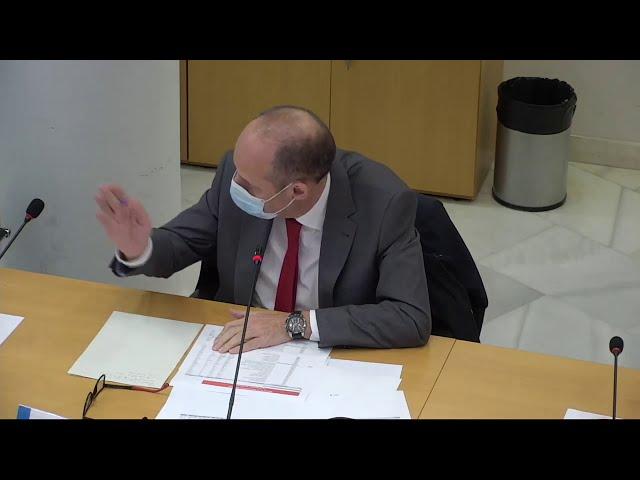 Intervención Concejal Ramón Silva en Comisión Presidencia de Pleno. Presupuestos.