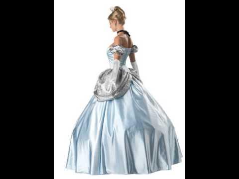 Theatrical Quality Enchanting Princess Adult Womens Costume & Theatrical Quality Enchanting Princess Adult Womens Costume - YouTube