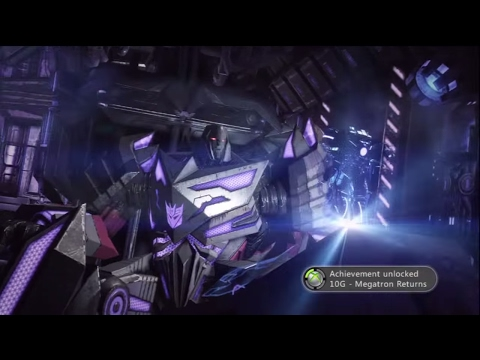 Transformers: Fall Of Cybertron - Chapter 9: Megatron Returns (Soundwave and Megatron)