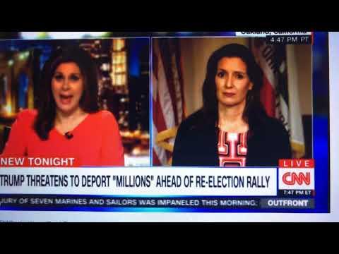 Libby Schaaf, Oakland Mayor Blasts President Trump On Immigration On CNN