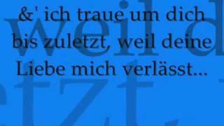 Kyra ft. Saint Plex - Weil du fort gehst (Lass mich los RMX) New German RnB 2009 (Lyrics)