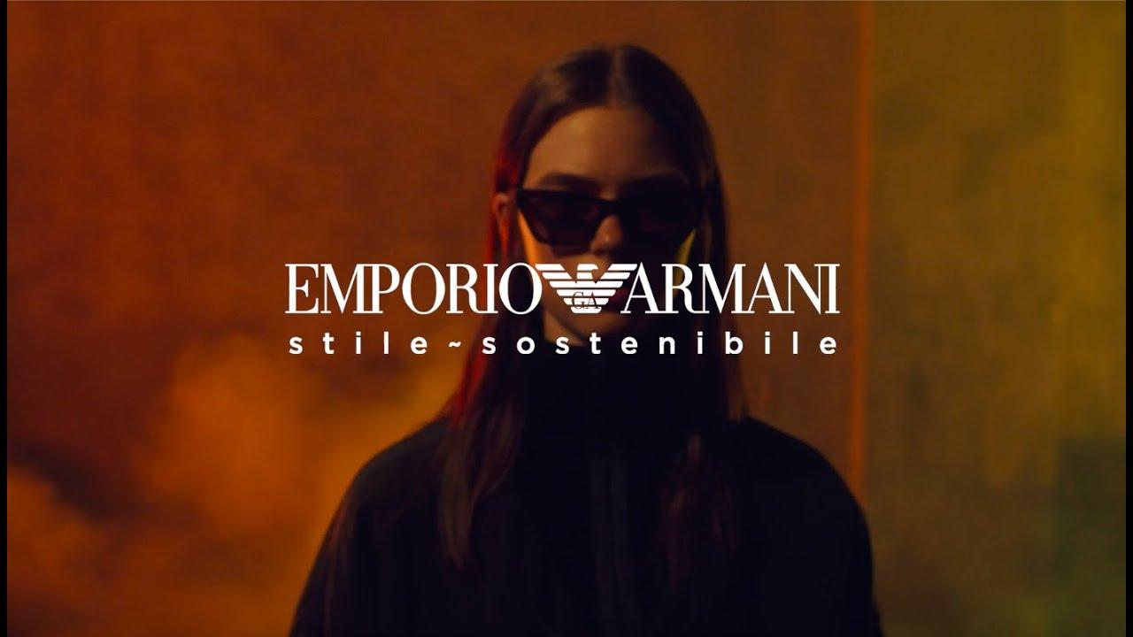 Emporio Armani Eyewear FW21-22 stile sostenibile