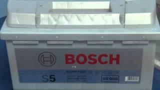Аккумулятор Bosch 6СТ-61 Ач S5 silver plus(Аккумулятор Bosch 6СТ-61 Ач S5 silver plus - http://electromotor.com.ua/video/battery/2492-bosch-6-61-s5-st-silver-plus Автомобильные аккумуляторы..., 2011-11-02T17:41:45.000Z)