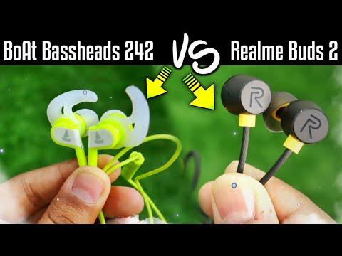 Boat Bassheads 242 earphones VS Realme Buds 2 earphones🔥🔥 | Best Budget Earphones under Rs 600