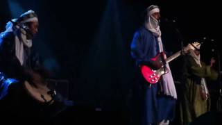 Tinariwen - Abdallah Ag Alhousseyni on vox/gtr, Live @ Trocadero, Philly Debut 11/16/11
