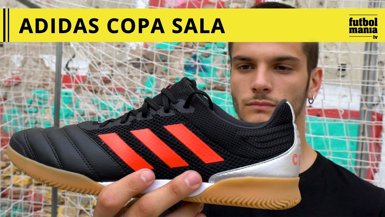 primavera Sucio Embajada  adidas Copa 19.3 Sala - YouTube