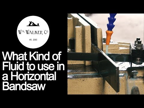 What fluid to use in your metalcutting bandsaw