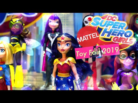 TOY FAIR 2019: Mattel - ALL NEW Toy Story 4 | DC Super Hero Girls | Polly Pocket