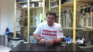 Фитинг для кеги   замена расходников(Видео - инструкция как разобрать фитинг для кеги и поменять резиновые прокладки., 2012-10-06T18:49:30.000Z)