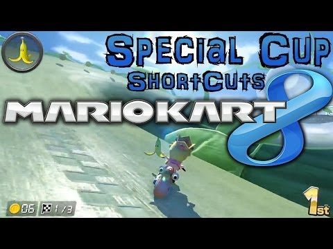 Mario Kart 8 Special Cup Shortcuts Tips Family Gamer Tv