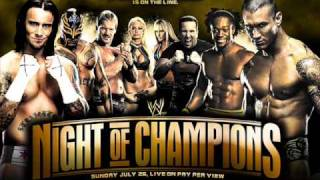 WWE Night of Champions 2009 Official Theme Song - Heavy Hitters - David Robidoux