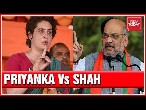 Priyanka Gandhi Refers PM Modi To 'Duryodhan'; Amit Shah Hits Back
