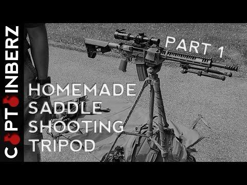 Deer Stand Tripod Gun Vise Hunting Blind Supply