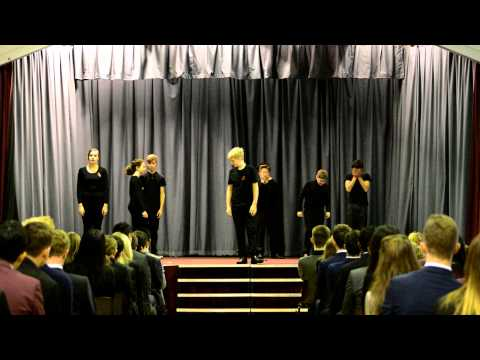 Y10 GCSE Drama Remembrance Performance 2014