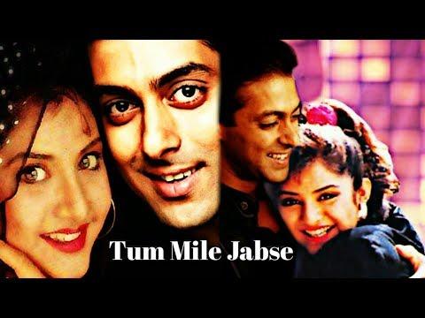 Tum Mile Jabse Song || Shalman Khan || Divya Bharti || Fanmade