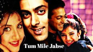Tum Mile Jabse Song , Shalman Khan , Divya Bharti , Fanmade