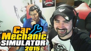 AngryJoe Plays Car Mechanic Simulator 2015!