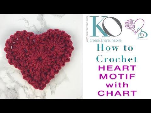 Free Crochet Pattern Heart Shaped
