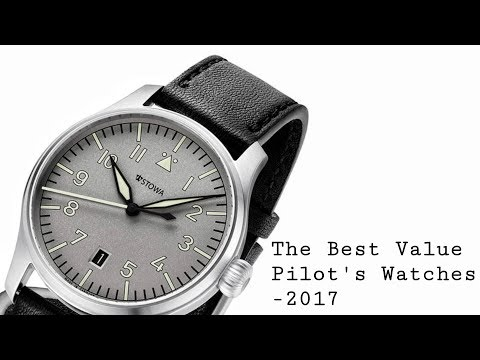 The Best Value-For-Money Pilot's Watches - 2017