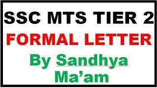 Category Formal Letter For Ssc Mts 2017