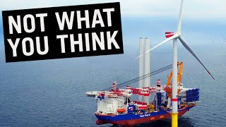 Ships that Install Wind Turbines #shorts
