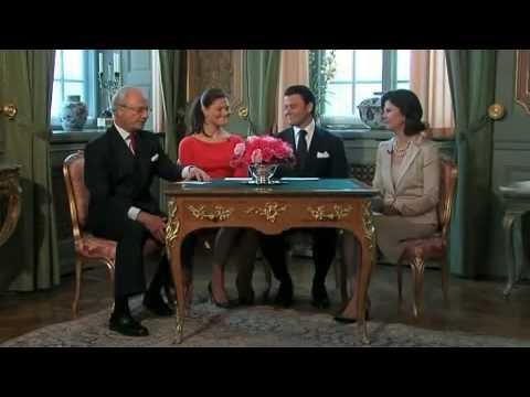 Swedish Crown Princess and Daniel Westling Engaged English subtitles
