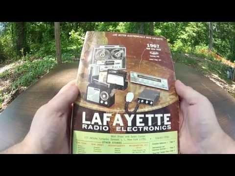 Vintage 1967 Lafayette Radio Catalog