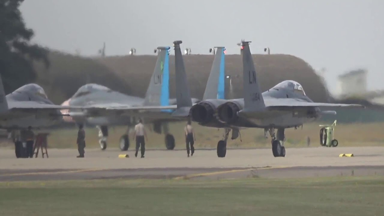 LIVE Airport Streaming From Lakenheath