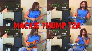 Mackie 12A- Speaker Modes Demo with instruments & vocals