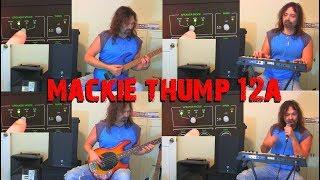 Mackie 12A- Speaker Modes Demo with instruments & vocals