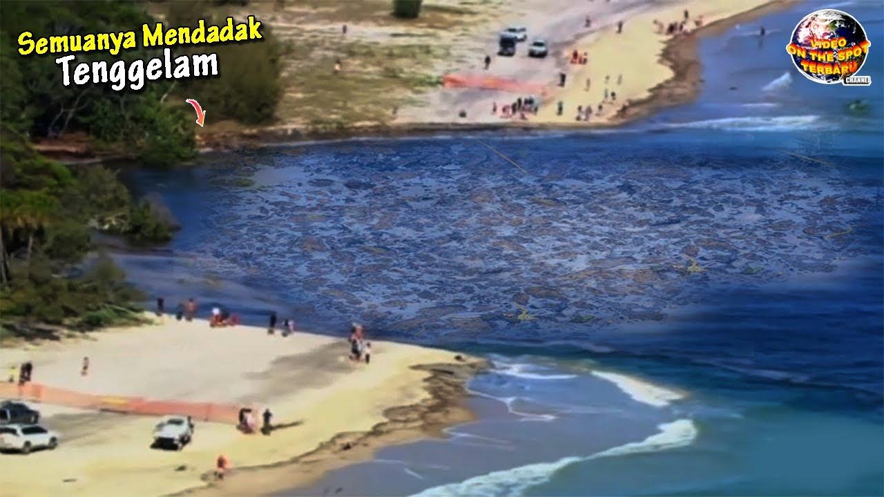 Lubang Misterius Telan 200 Meter Semenanjung Pantai // Fenomena Sinkhole Yang Terjadi di Dunia