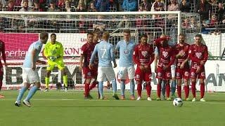 Höjdpunkter: Kjartansson hattrickskytt mot ÖFK - MFF serieledare under EM - TV4 Sport