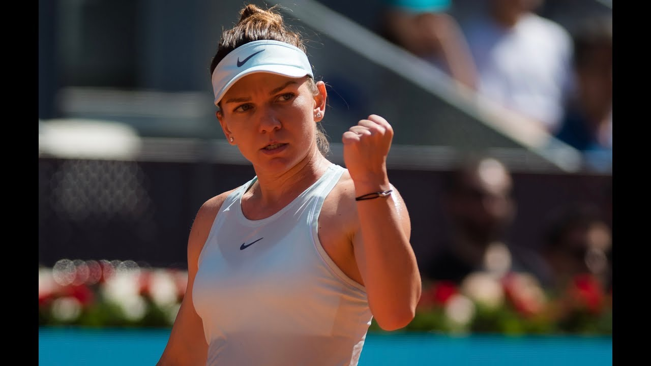 Simona Halep | 2019 Madrid Open Day 2 | Shot of the Day ...