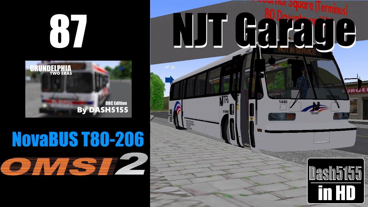 Grundelphia Route 87 with NovaBus RTS (Cummins) - OMSI 2