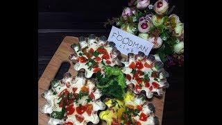 Яйца, запеченные со сметаной и помидорами: рецепт от Foodman.club