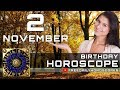 November 2 - Birthday Horoscope Personality
