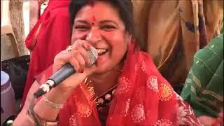 Kirtan 33 :- Navratri Kirtan Day 4 { आज मेरे अंगना भवानी नाचे } @ DDA Flats, Dwarka